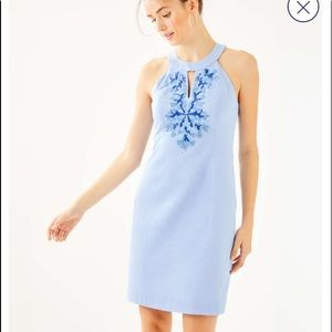 Like new LILLY PULITZER JENA STRETCH SHIFT DRESS